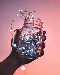Riciclo barattoli di vetro